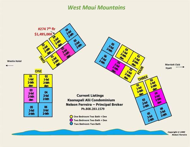 50 Nohea Kai Dr 2-704, Lahaina, HI 96761 (MLS #388754) :: Maui Lifestyle Real Estate
