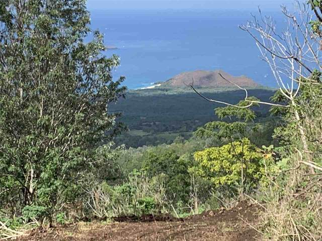 Lot 124 Piilani Hwy 37 Rd Lot 124, Kula, HI 96790 (MLS #388956) :: Maui Estates Group
