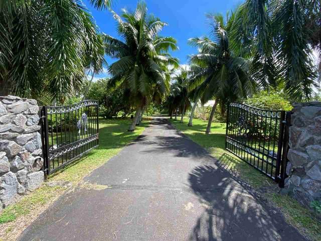 8794 Kamehameha V Hwy, Kaunakakai, HI 96748 (MLS #389172) :: 'Ohana Real Estate Team