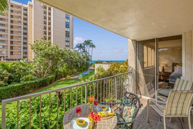 4365 Lower Honoapiilani Rd #120, Lahaina, HI 96761 (MLS #390019) :: Speicher Group