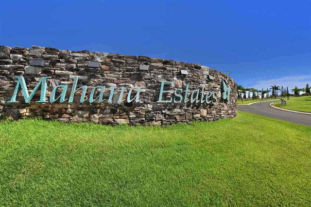840 Mahana Ridge St Lot 51, Lahaina, HI 96761 (MLS #390139) :: Speicher Group