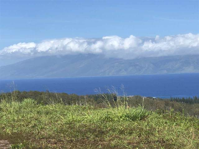 800 Mahana Ridge Pl Lot 47, Lahaina, HI 96761 (MLS #390144) :: Speicher Group