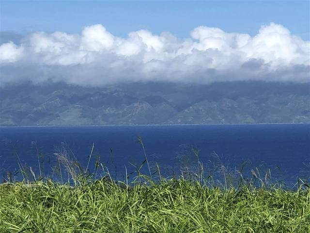 530 Mahana Ridge St Lot 33, Lahaina, HI 96761 (MLS #390145) :: Speicher Group