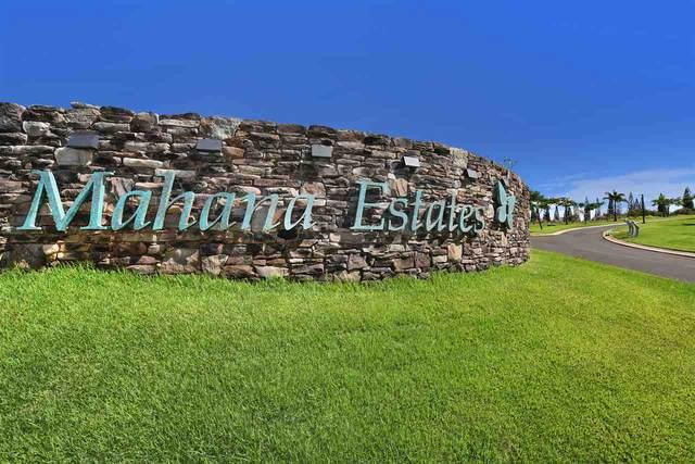 610 Mahana Ridge St Lot 36, Lahaina, HI 96761 (MLS #390150) :: 'Ohana Real Estate Team