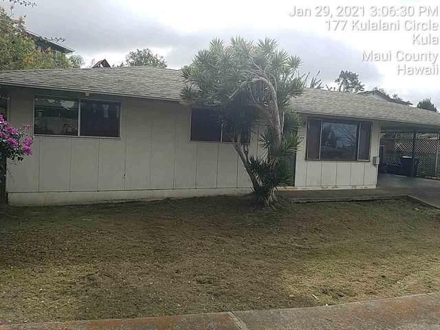 177 Kulalani Cir, Kula, HI 96790 (MLS #390353) :: 'Ohana Real Estate Team