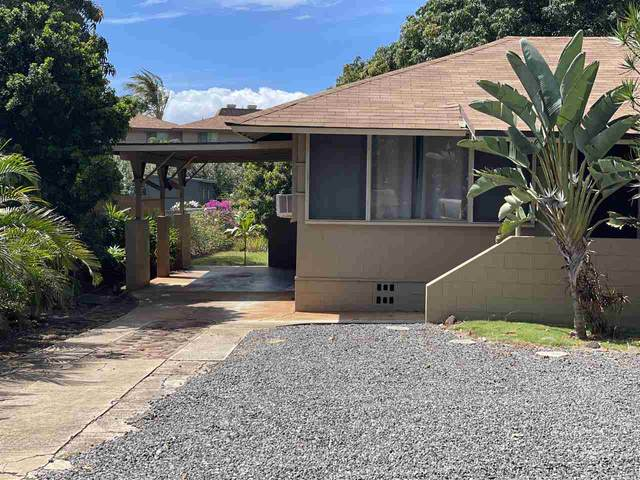 3843 Lower Honoapiilani Rd, Lahaina, HI 96761 (MLS #390908) :: Speicher Group