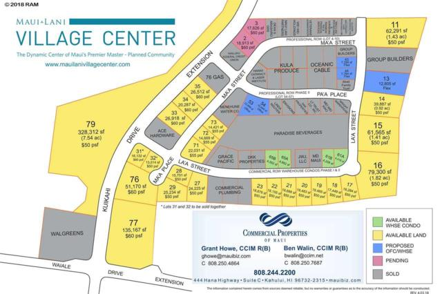 0 Kuikahi Dr Lot 79, Kahului, HI 96732 (MLS #373212) :: Elite Pacific Properties LLC