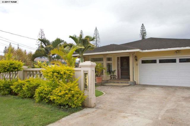 337 Ilima St, Lanai City, HI 96763 (MLS #374605) :: Elite Pacific Properties LLC