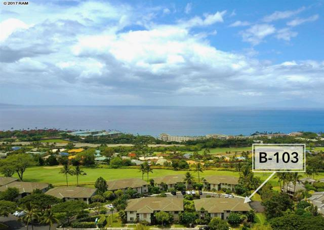 3950 Kalai Waa St B-103, Kihei, HI 96753 (MLS #375322) :: Elite Pacific Properties LLC