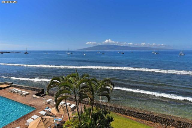 1403 Front St #411, Lahaina, HI 96761 (MLS #376912) :: Island Sotheby's International Realty