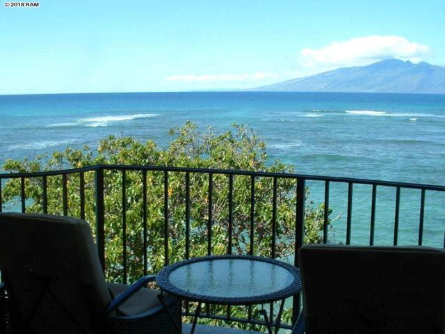 4471 Lower Honoapiilani Rd #409, Lahaina, HI 96761 (MLS #377198) :: Elite Pacific Properties LLC