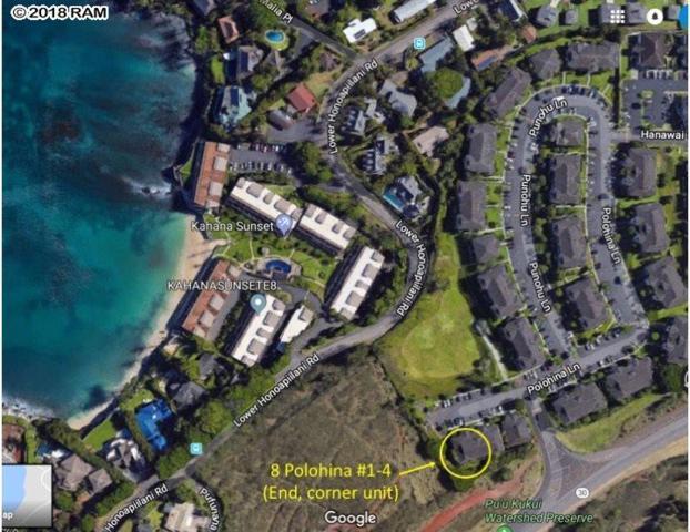 8 Polohina Ln #4, Lahaina, HI 96761 (MLS #377542) :: Elite Pacific Properties LLC