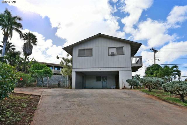 808 Laalo Pl, Lahaina, HI 96761 (MLS #378416) :: Elite Pacific Properties LLC
