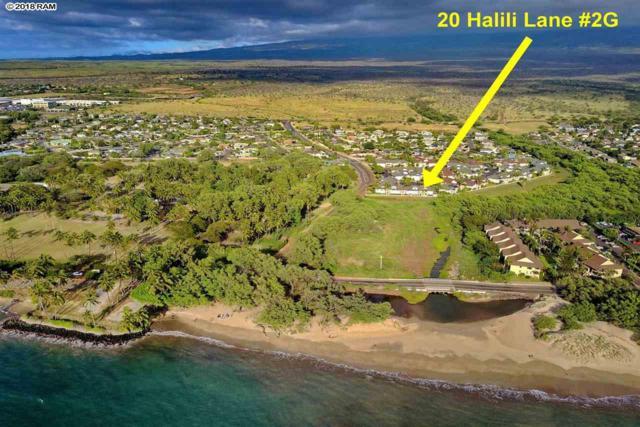 20 Halili Ln #2G, Kihei, HI 96753 (MLS #379895) :: Elite Pacific Properties LLC