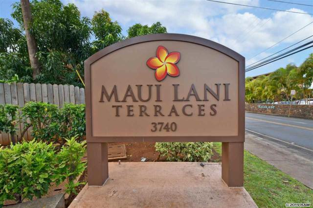 3740 Lower Honoapiilani Rd A 101, Lahaina, HI 96761 (MLS #381645) :: Maui Estates Group