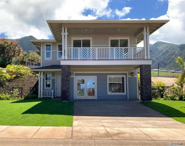175 Pua'ehu St Lot 5, Wailuku, HI 96793 (MLS #382678) :: Elite Pacific Properties LLC