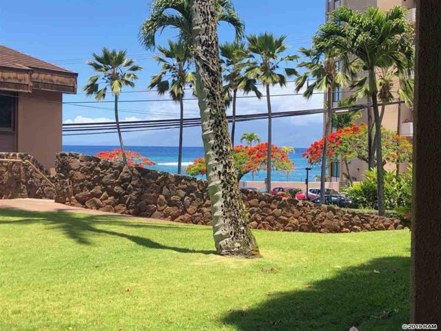 4242 Lower Honoapiilani Rd F108, Lahaina, HI 96761 (MLS #382877) :: Maui Estates Group