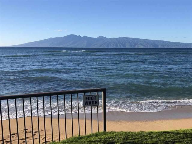 3875 Lower Honoapiilani Rd B106, Lahaina, HI 96761 (MLS #389453) :: Maui Estates Group