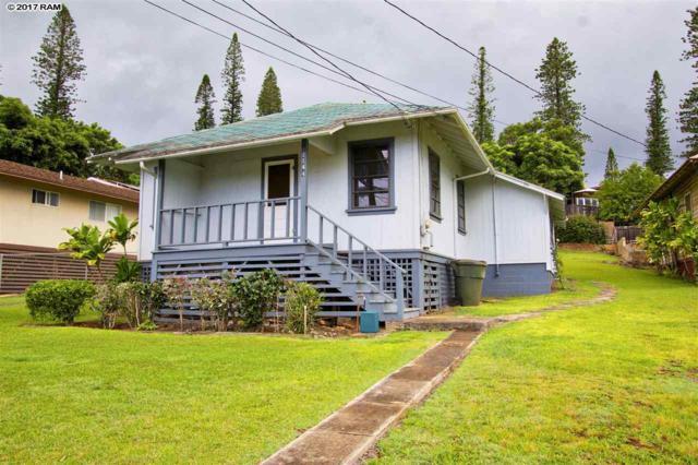 1144 Fraser Ave, Lanai City, HI 96763 (MLS #374539) :: Elite Pacific Properties LLC