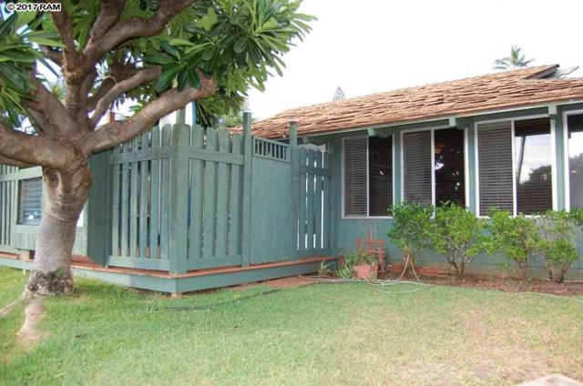 2750 Kalapu Dr #34, Lahaina, HI 96761 (MLS #375657) :: Elite Pacific Properties LLC
