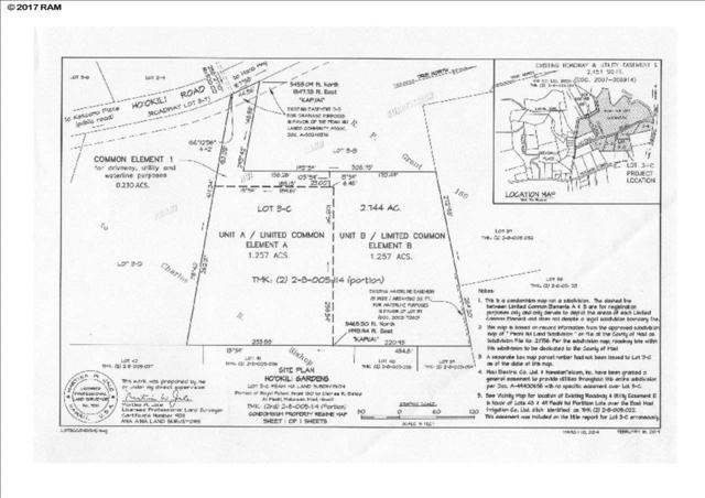 0 Hookili Rd B, Haiku, HI 96708 (MLS #376038) :: Elite Pacific Properties LLC