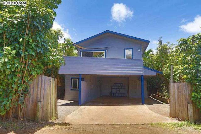 44 Lei Pl, Paia, HI 96779 (MLS #378576) :: Elite Pacific Properties LLC