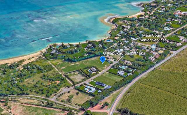 0 Kapukaulua Makai Pl, Paia, HI 96779 (MLS #388447) :: Corcoran Pacific Properties