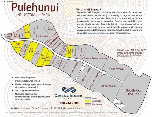307 Nopu St Lot 2-J, Puunene, HI 96784 (MLS #372384) :: Elite Pacific Properties LLC