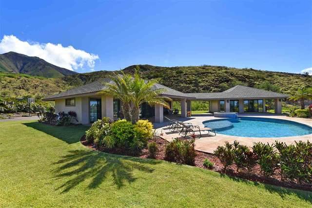 21 Pua Niu Way, Lahaina, HI 96761 (MLS #387224) :: Corcoran Pacific Properties