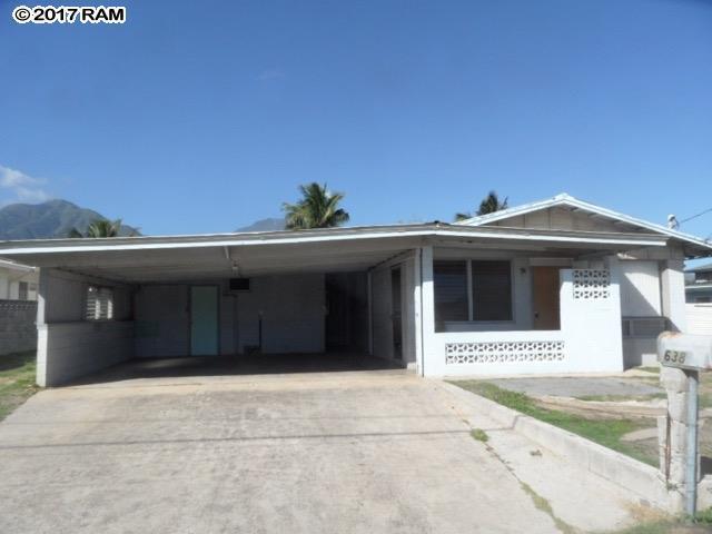 638 Lalani Cir, Kahului, HI 96732 (MLS #376606) :: Island Sotheby's International Realty