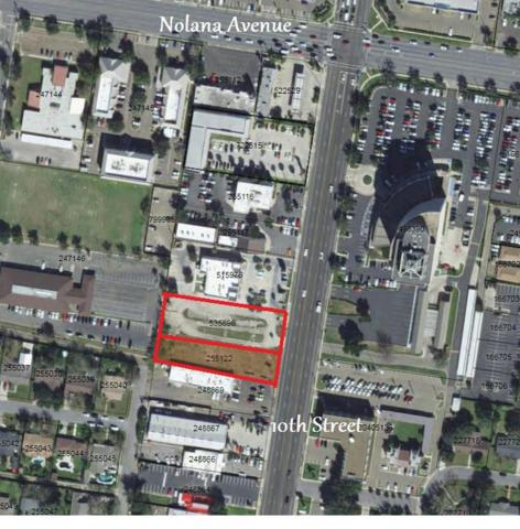 3801 & 3713 N 10th Street, Mcallen, TX 78501 (MLS #221319) :: Jinks Realty