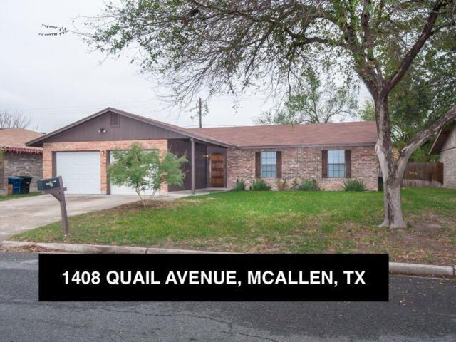 1408 W Quail Avenue, Mcallen, TX 78504 (MLS #300918) :: Jinks Realty