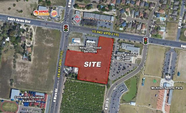00 Buddy Owens Boulevard, Mcallen, TX 78504 (MLS #303312) :: The Ryan & Brian Real Estate Team