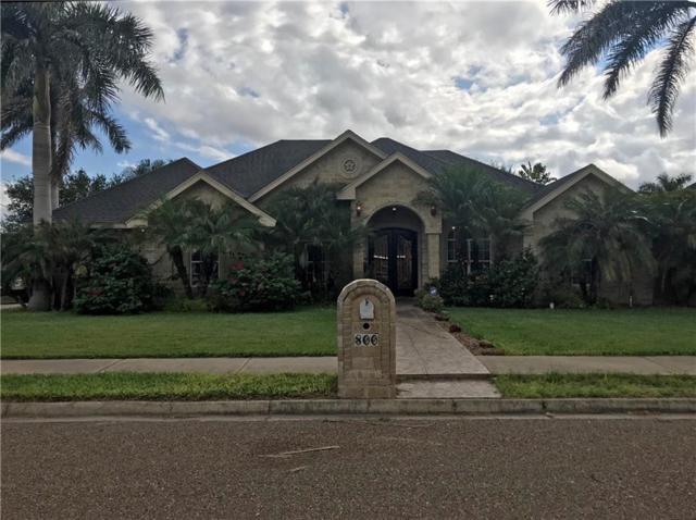 800 Amethyst Drive, Weslaco, TX 78596 (MLS #305035) :: The Ryan & Brian Real Estate Team