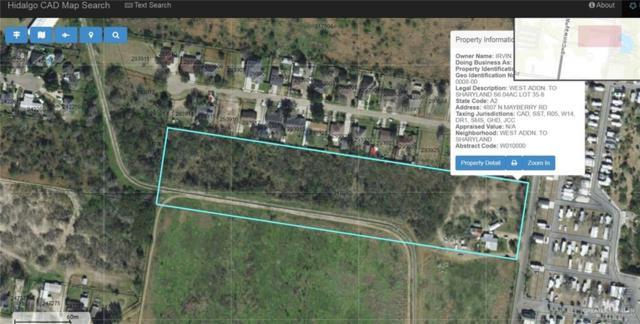 0 N Mayberry Road, Palmhurst, TX 78573 (MLS #310536) :: The Ryan & Brian Real Estate Team