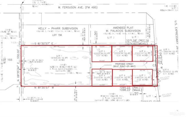 150 Altezza Drive, Pharr, TX 78577 (MLS #313384) :: The Ryan & Brian Real Estate Team