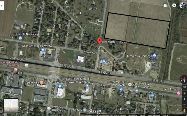 810 N 11th Street N, Donna, TX 78537 (MLS #315139) :: HSRGV Group