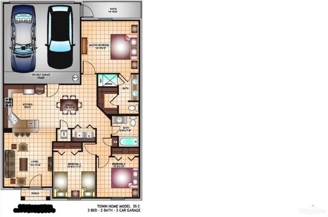 2924 Allen Drive, Edinburg, TX 78539 (MLS #316640) :: The Ryan & Brian Real Estate Team