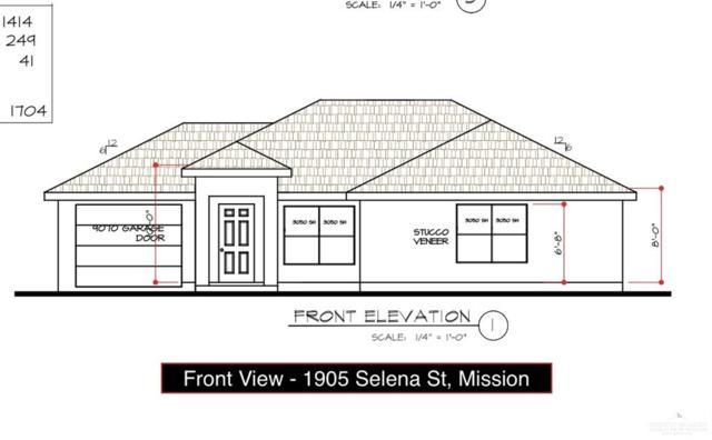 1905 Selena Street, Mission, TX 78572 (MLS #318074) :: The Ryan & Brian Real Estate Team