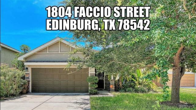 1804 Faccio Street, Edinburg, TX 78542 (MLS #319283) :: Rebecca Vallejo Real Estate Group