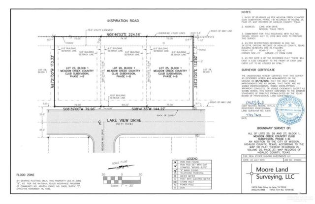 Lot 26 Lakeview Drive, Mission, TX 78572 (MLS #319657) :: The Ryan & Brian Real Estate Team