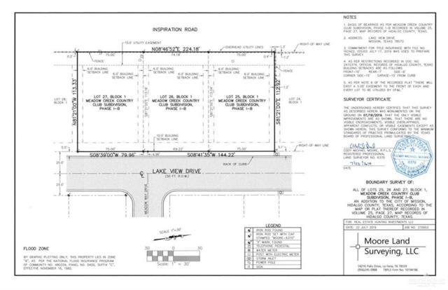 Lot 26 Lakeview Drive, Mission, TX 78572 (MLS #319657) :: The Lucas Sanchez Real Estate Team