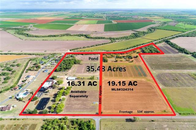 19.15 AC Mile 6 North Road, Mercedes, TX 78570 (MLS #324314) :: Jinks Realty