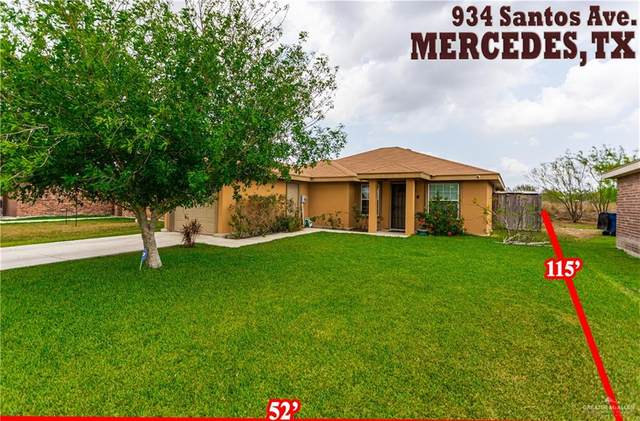 934 Santos Avenue, Mercedes, TX 78570 (MLS #331048) :: The Ryan & Brian Real Estate Team