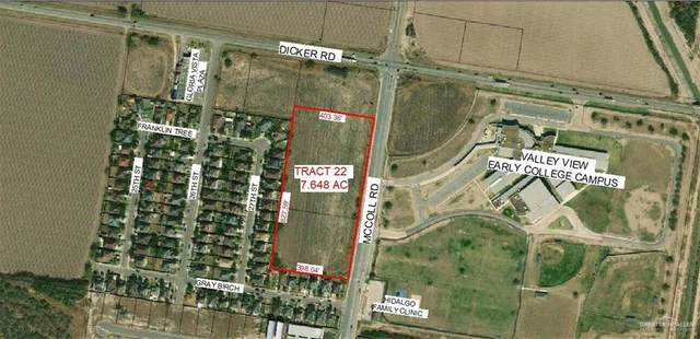 3010 N Mccoll Road, Hidalgo, TX 78557 (MLS #331076) :: The Ryan & Brian Real Estate Team
