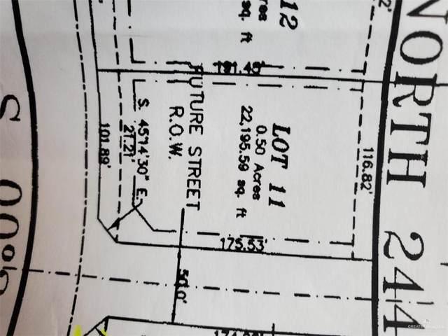 Lot 11 N Spence Road Aka Cr 180 Road, Raymondville, TX 78580 (MLS #331471) :: The Lucas Sanchez Real Estate Team