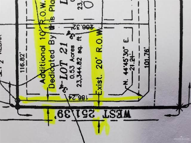 Lot 21 N Spence Road Aka Cr 180 Road, Raymondville, TX 78580 (MLS #331523) :: The Lucas Sanchez Real Estate Team
