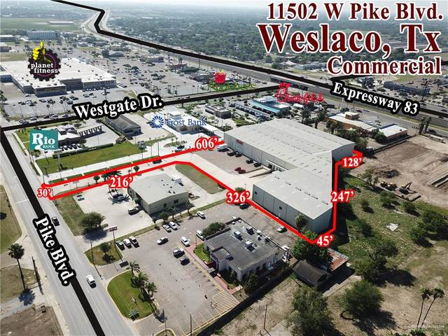 1502 W Pike Boulevard W, Weslaco, TX 78596 (MLS #333811) :: The Ryan & Brian Real Estate Team