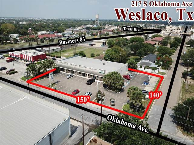 217 S Oklahoma Avenue S, Weslaco, TX 78596 (MLS #333854) :: The Ryan & Brian Real Estate Team