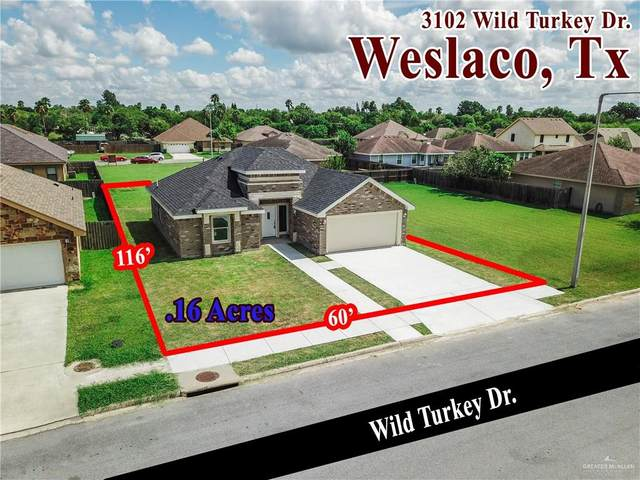 3102 Wild Turkey Drive, Weslaco, TX 78596 (MLS #339068) :: BIG Realty
